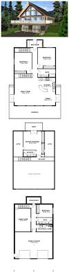 a frame house plans with garage 47 best a frame house plans images on architecture