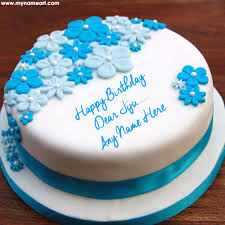 online birthday cake write jiju name on birthday cake pic online wishes