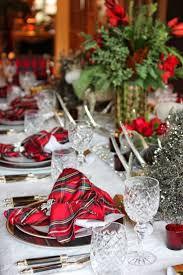 christmas table top 25 best tartan christmas ideas on pinterest tartan throws