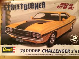 Dodge Challenger 1980 - 1970 dodge challenger r t u2013 revell rays kits