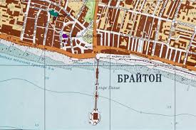 Russian Map Chilling Russian Map Suggests Soviets Could Have Been Targetting