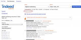 find resume how to use indeed resume search to find the best candidates fast
