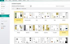 how to make a brochure in publisher printaholic com
