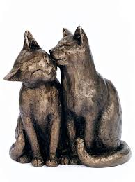 yum yum and friend bronze cat ornament pinteres