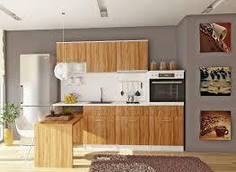 cuisine en bois naturel la cuisine bois brut adopte un look design moderne