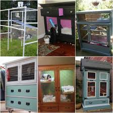 Build Your Own Rabbit Hutch 9 Diy Rabbit Hutches From Upcycled Furniture