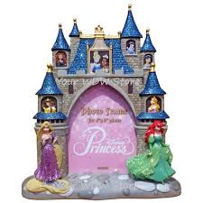 your wdw store disney picture frame princess castle frame 4 x 6