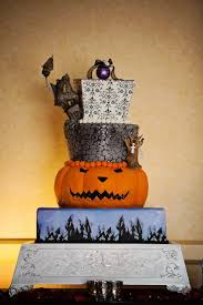 Halloween Themed Wedding Cakes 110 Best Halloween Cakes Images On Pinterest Halloween Foods