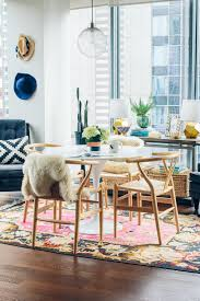 Colorful Dining Room by Rove Concepts Dining Room Reveal The Fox U0026 She Chicago Style Blog