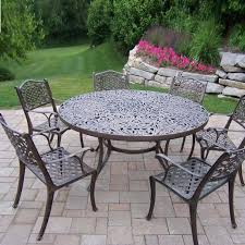 7 Piece Patio Dining Sets Clearance by Patio Cast Aluminum Patio Dining Sets Home Designs Ideas