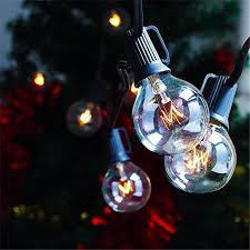 Christmas Patio Lights by Zitrades Patio Lights G40 Globe Party String Lights Decorative