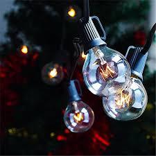 zitrades patio lights g40 globe party string lights decorative