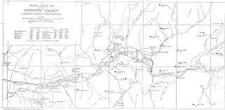 National Parks Us Map Yosemite Valley Map Yosemite National Park Ca Us U2022 Mappery