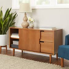 Mid Century Modern Sofa Table by Better Homes And Gardens Flynn Mid Century Modern Credenza Pecan