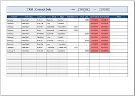 Customer Management Excel Template Free Crm Template For Excel 2007 2016