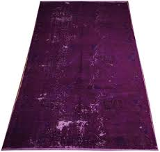 Large Purple Rugs Overdyed Rugs Online Buy Stylish Overdyed Rugs Retro Style Rug