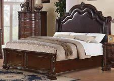 carved wood bed ebay