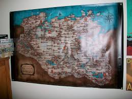 Giant Map My Room Just Got A Lot More Dovahkiin With This Giant Skyrim Map