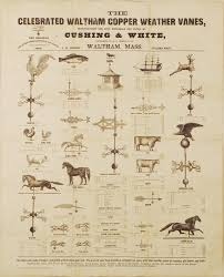 Maine Weathervanes Unrecorded Broadside Advertising The Wares Of A 19th Century