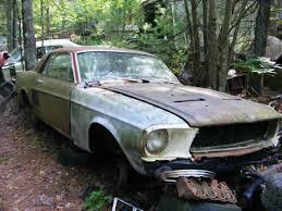 mustang salvage yard mustang junkyard found in rhode island