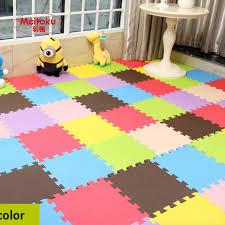tappeti ad incastro 12 pz set giocattoli per bambini foam puzzle gioca mat ad