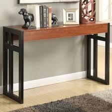 Sofa Table Desk by Cherry Console U0026 Sofa Tables You U0027ll Love Wayfair