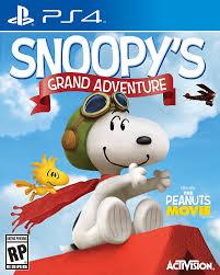amazon snoopy u0027s grand adventure xbox activision