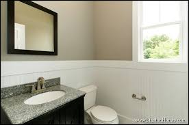 wainscoting ideas for bathrooms new home building and design home building tips custom