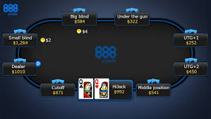 Big Blind Small Blind Learn How To Play Texas Hold U0027em Online At 888poker New Jersey