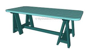 knock down picnic table plans bl working where to get free knockdown furniture plans