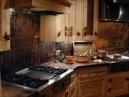 kitchen backsplashes hammered copper backsplash behind stove
