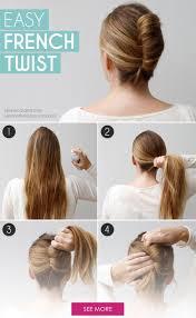 step by step twist hairstyles best 25 french twist hair ideas on pinterest french twist