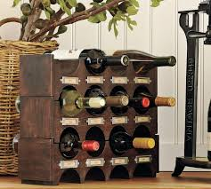 alluring dark brown color wine storage racks come with replacement