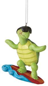 surfer turtle ornament traditional ornaments by