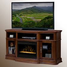 dimplex portobello media console electric fireplace walnut