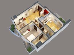 3d apartment detailed interior apartment 3d model 3d model buy detailed
