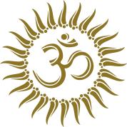 om sun buddhism spiritual meditation goa t shirt