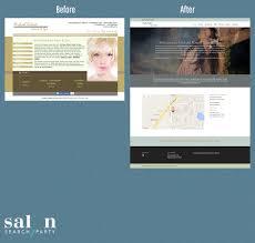 examples of salon website design professional salon website designs