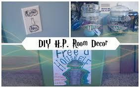 diy easy harry potter room decor youtube