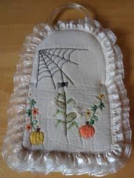 imagenes de halloween para juegos de baño juego para baño halloween bordado a mano 590 00 en mercado libre