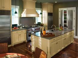 Kitchens With Island by Graceful One Wall Kitchen With Island Floor Plans Outstanding