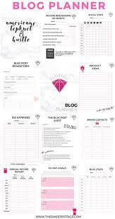 birthday party planner template best 25 blog planner printable ideas on pinterest free blog printable blog planner more