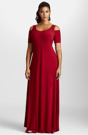 mynt 1792 cold shoulder maxi dress plus size my every size