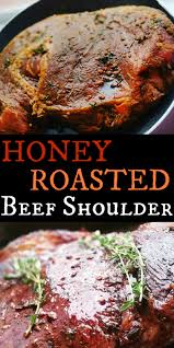 thanksgiving roast beef recipe honey roasted beef shoulder jamaican rice roast beef and rice