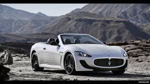 white maserati wallpaper 2013 maserati grancabrio mc front hd wallpaper 1 1920x1080