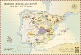 map of spain map of spain wine regions doc s cellartours