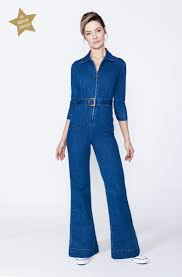70s denim jumpsuit 70s style denim jumpsuit as seen in grazia polly vernon