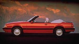 1989 ford mustang 4 cylinder 1987 ford mustang lx convertible this was my second car that i
