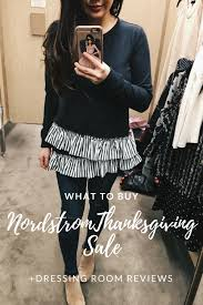 nordstrom loft thanksgiving sales dressing room reviews