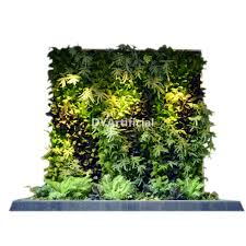 new design artificial plants wall for home frame dongyi